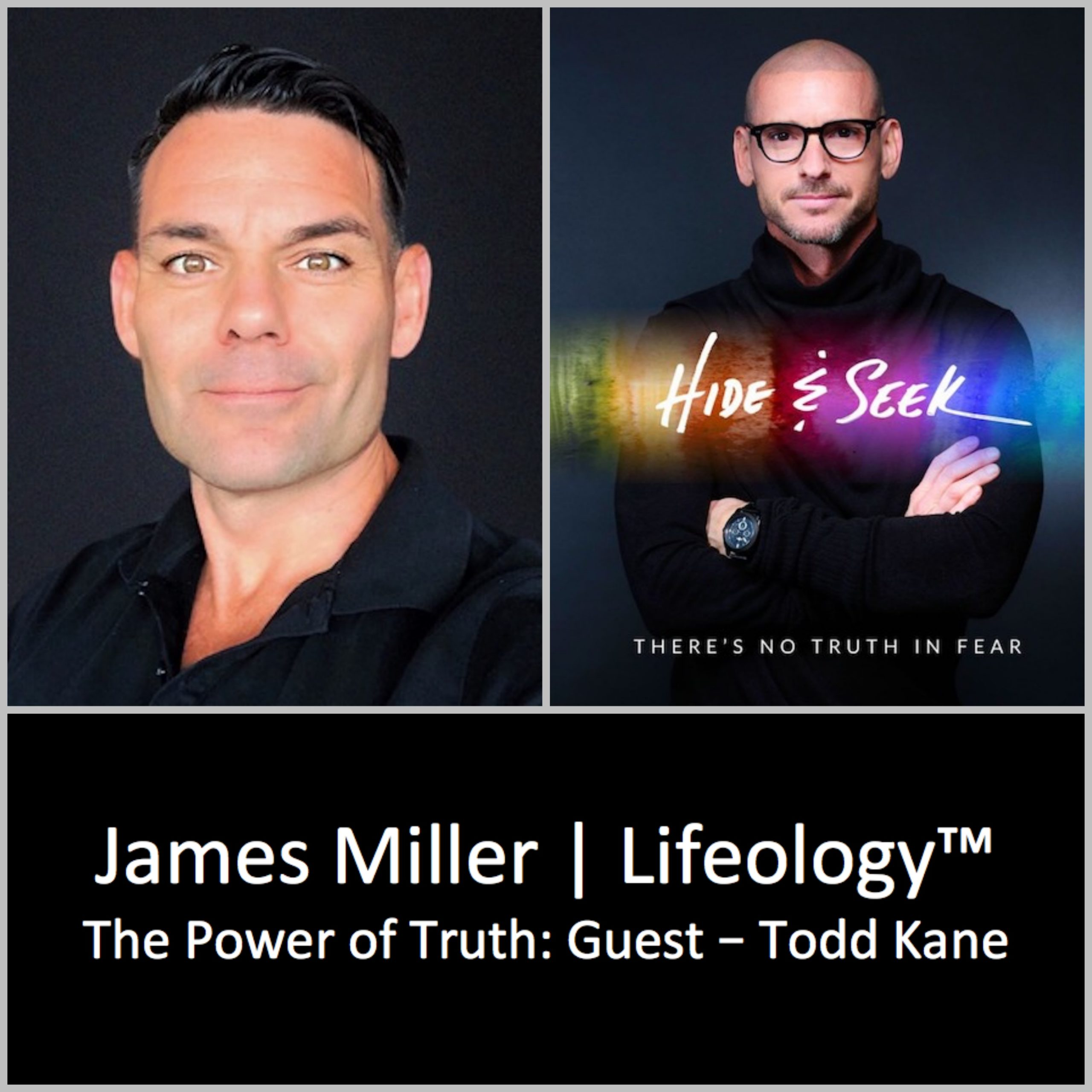 In Hide & Seek Todd Kane #IAmToddKane takes us into his hidden places to discover the truth and expose fear for the fraud it is. There's no truth in fear. #success #truth #gay #sexuality #hope #healing #abuse